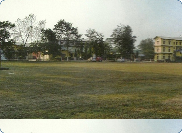A VIEW OF COLLEGE BUILDING
